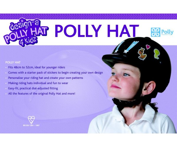 Polly Hat 4 Kidz Sticker Sets