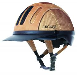 Troxel Tan Sierra Western Riding Helmet - Medium (1 Only)